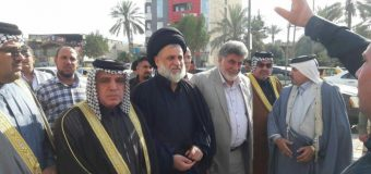 Imam of Kadhimiya Shrine Meets PR Manager of Grand Ayatollah Shirazi in Iraq
