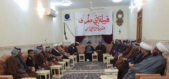 Delegations from Marjaeyat TV Visit Tarf Tribe in Iraq