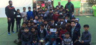 Cash Handouts Distributed Among Students of Amir Al-Momenin Orphanage