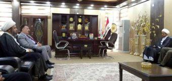 Delegations from Grand Jurist's Office Visit Al-Furat University