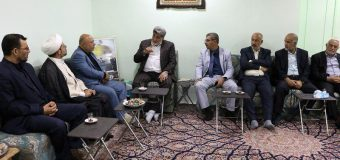 PR Manager of Grand Ayatollah Shirazi Meets Brigadier General in Dejail City