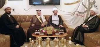Delegations from Grand Jurist's Office Visit Tribal Figures in Baghdad