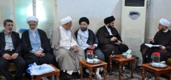 Office of Grand Ayatollah Shirazi Hosts Activists from Iraq, India and Gulf Countries