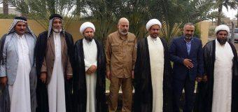 Members of Grand Jurist's Office Visit PMU General in Diwaniya