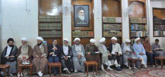 Office of Grand Ayatollah Shirazi Hosts Visitors from Inside and Outside Iraq