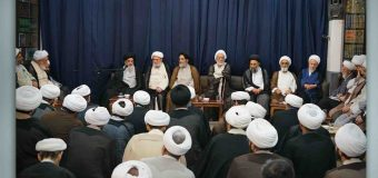 Scholarly Sessions at Office of Grand Ayatollah Shirazi During Ramadan (The 4th of Ramadan)