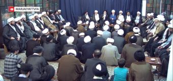 Scholarly Sessions at Office of Grand Ayatollah Shirazi During Ramadan