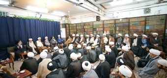 Scholarly Sessions at Office of Grand Ayatollah Shirazi During Ramadan (The 6th of Ramadan)