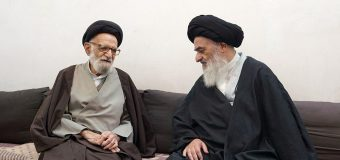 Ayatollah Sayed Ahmed Shakuri Meets Grand Ayatollah Shirazi