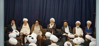 Scholarly Sessions at Office of Grand Ayatollah Shirazi During Ramadan (The 5th of Ramadan)