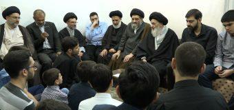 Descendants of Sayed Abdul Hadi Shirazi Meet with Grand Ayatollah Shirazi