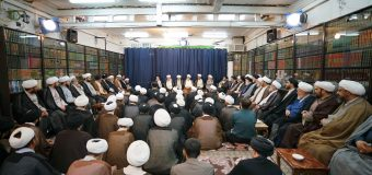 Scholarly Session at the Office of Grand Ayatollah Shirazi Ramadan 8th 1440 AH