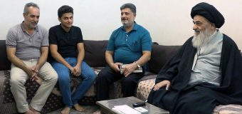 Deaf Activists from Holy Karbala Meet with Grand Ayatollah Shirazi