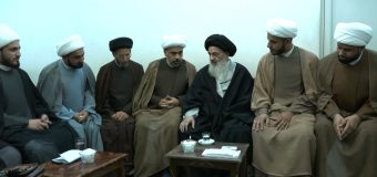 Clerics from Iraq Meet with Grand Ayatollah Shirazi