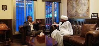 Representative of Grand Ayatollah Shirazi Meets Governor of Baalbek City