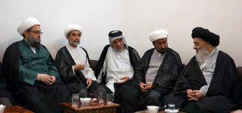 Clerics and Scholars from Najaf Meet Grand Ayatollah Shirazi