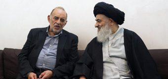Rituals Manager of Imam Hussain Shrine Meets Grand Ayatollah Shirazi