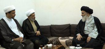 Sheikh Jafar Ibrahimi Meets Grand Ayatollah Shirazi