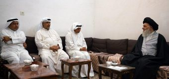 Media Activists from Kuwait Meet Grand Ayatollah Shirazi