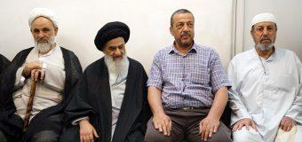 Karbala Pilgrimage Caravan Arrives at Office of Grand Ayatollah Shirazi