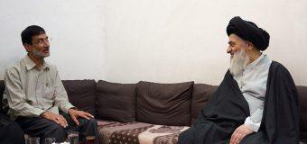 Haj Mohammad Fedaei Meets Grand Ayatollah Shirazi