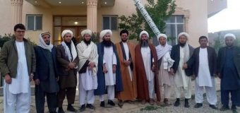 Delegates of Grand Ayatollah Shirazi Visit Seminaries in Bamyan City