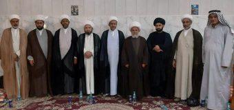 Delegations from Office of Grand Ayatollah Shirazi Travel to Basra