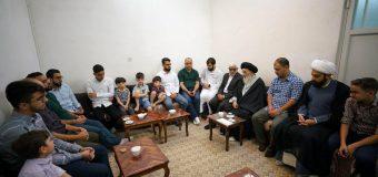 Members of Quran Hakim Center Meet Grand Ayatollah Shirazi