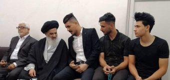 Religious Activists Meet Grand Ayatollah Shirazi in Holy Qom