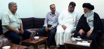 Shias from Sweden Meet Grand Ayatollah Shirazi