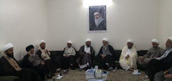 Delegations of Ayatollah Sanad Visit Hajj Office of Grand Ayatollah Shirazi