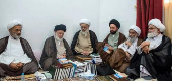 Hajj Delegations of Grand Ayatollah Shirazi Meet Other Hajj Delegations in Holy Medina