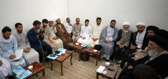 Clerics from Imam Hasan Askari Seminary Meet Grand Ayatollah Shirazi