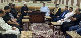 Office of Grand Ayatollah Shirazi Hosts Dignitaries in Basra Iraq
