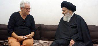 Grand Ayatollah Shirazi Hosts Dutch Writer and Researcher