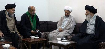 Grand Ayatollah Shirazi Hosts Religious Activists in Holy Qom Iran