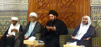 Sayed Ahmed Shirazi Visits Imam Hussain Memorials in Kuwait
