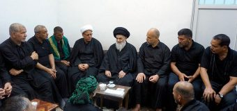 Members of Qassem Community from Iraq Meet Grand Ayatollah Shirazi