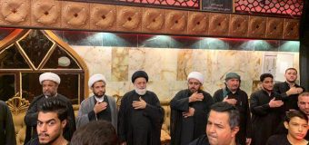 Delegations of Grand Ayatollah Shirazi Visit Activists in Holy Kadhimiya