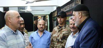 Public Relations Manager of Grand Ayatollah Shirazi Meets Iraqi Generals
