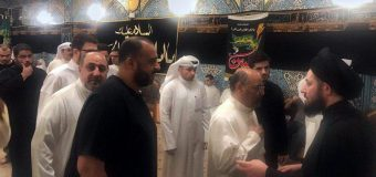 Sayed Ahmed Shirazi Continues to Visit Memorials of Imam Hussain (PBUH) in Kuwait