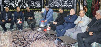 PR Manager of Grand Ayatollah Shirazi Visits Iraqi Officials