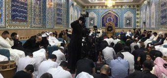 Sayed Ahmed Shirazi Participates in Memorials at Rasul Adham Husayniya in Kuwait