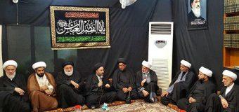 Office of Grand Ayatollah Shirazi Hosts Members of AhlulBayt Center