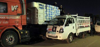 Truckloads of Drinking Water Distributed Among Service Units in Holy Karbala