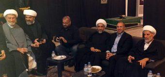 Representative of Grand Ayatollah Shirazi Takes Part in Imam Sajjad Memorials in Beirut