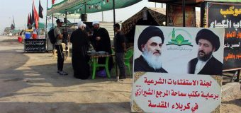 AhlulBayt Center Sets Up Stations to Help Arbaeen Pilgrims