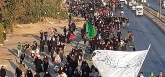 Clerics from Zainabiya Seminary Honor Arbaeen Pilgrimage