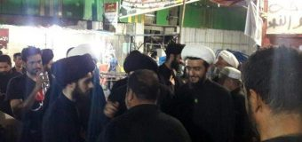 Sayed Ahmed Shirazi Visits Rasul Adham Mawkeb in Holy Karbala