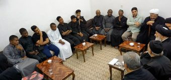 Shia Muslims from Madagascar Meet Grand Ayatollah Shirazi